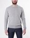 Crew Neck Knit / Grey-melange