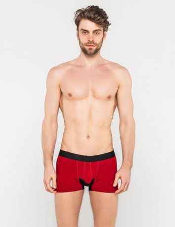 Anatomic Grid Boxers , Бордовый, S/M