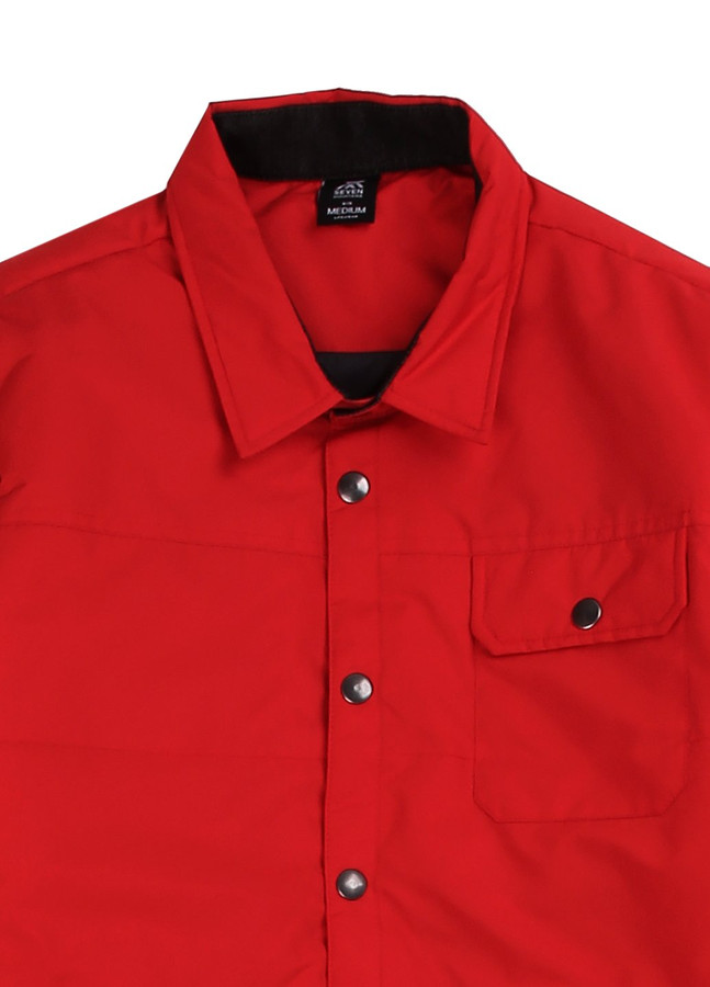 Jacket Shirt, Red, M