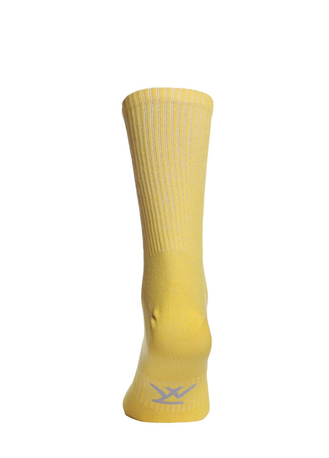 Ribbed socks, Yellow, 40-42