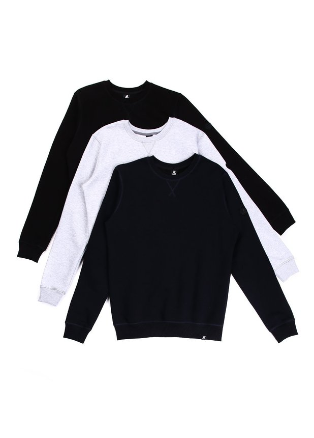 Pack Basic Sweatshirt (3)
