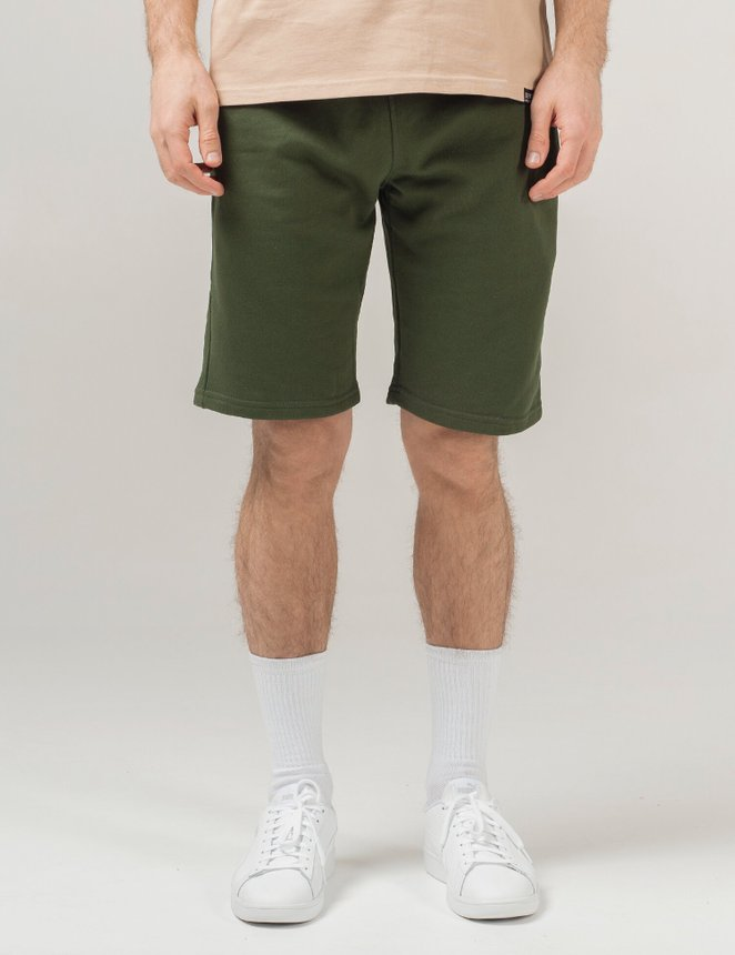 Knit shorts classic, Army green, S/M