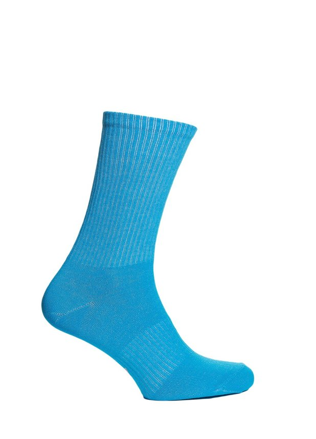 Ribbed socks, Aqua, 40-42