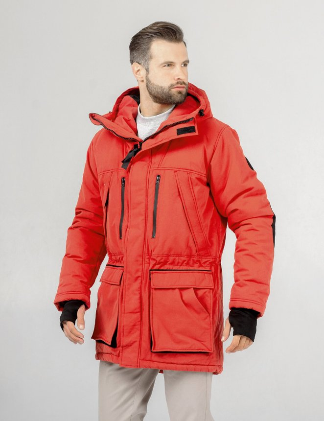 Long Tail Parka Pro, Red, M