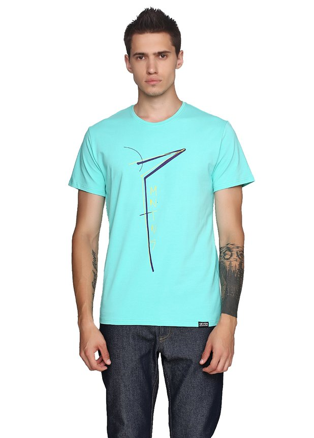 Seven Slim Neon T-Shirt Mint