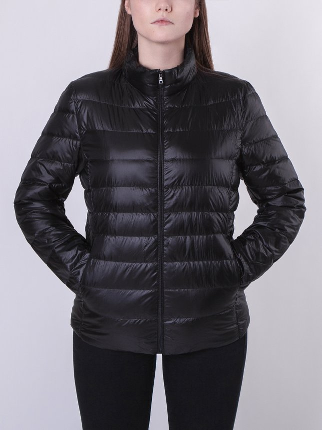 Light Down Jacket Women/Blue, Black, S