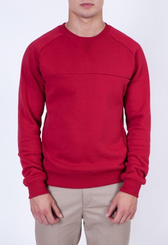 HP Sweatshirt, Burgundy, L