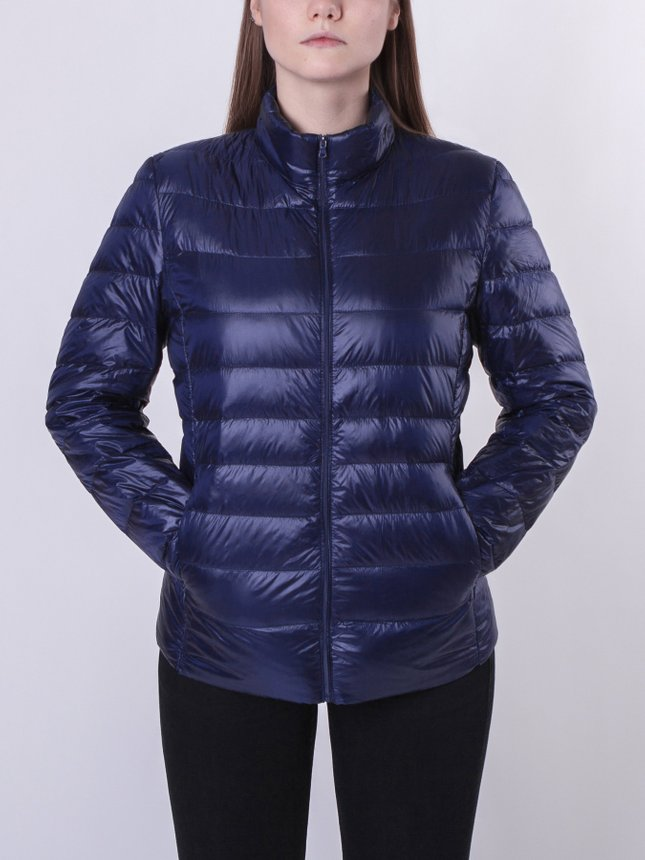 Light Down Jacket Women/Blue, Navy, S