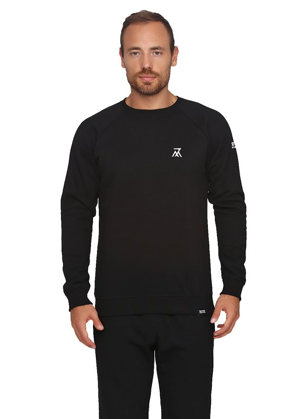 Sweatshirt Logo 7M, Black, S