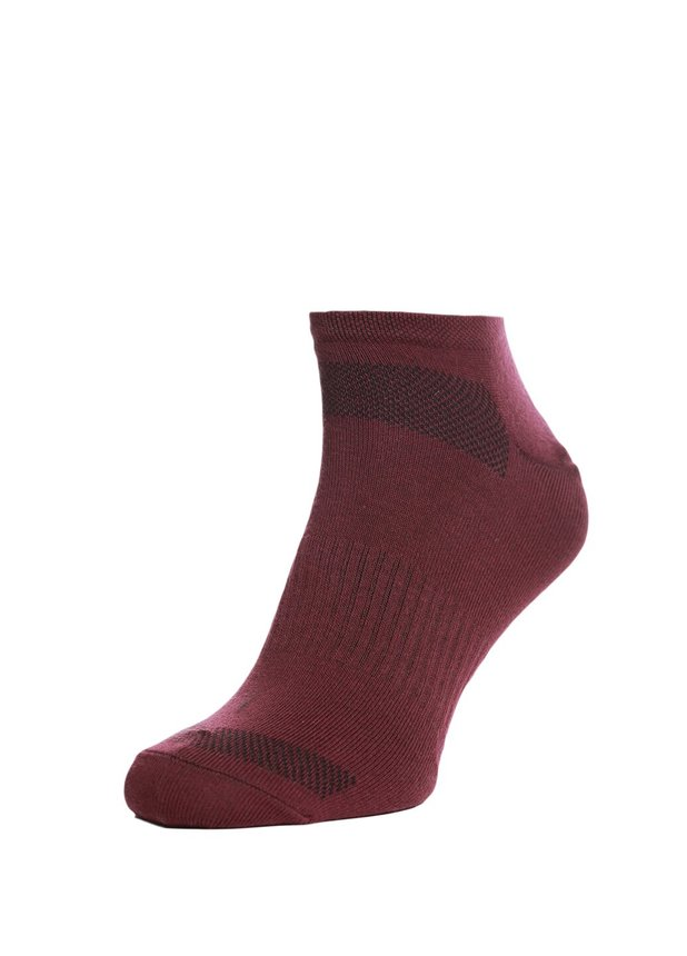 Trainer socks, Burgundy, 40-42