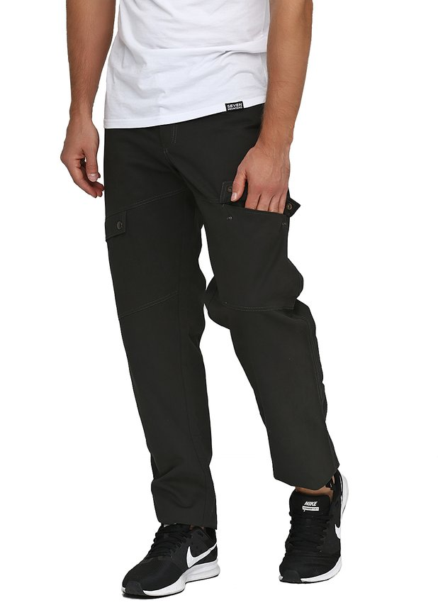 Ergonomic Pants / forest green, Forest green, S
