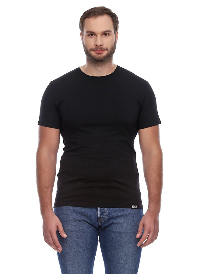 Basic T-Shirt EL, Черный, XL