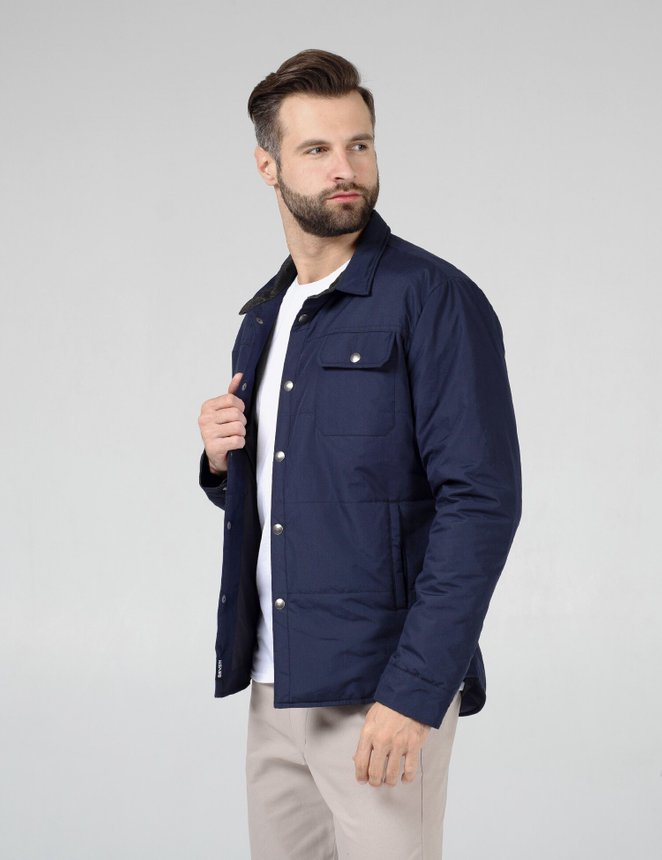 Jacket Shirt / Navy