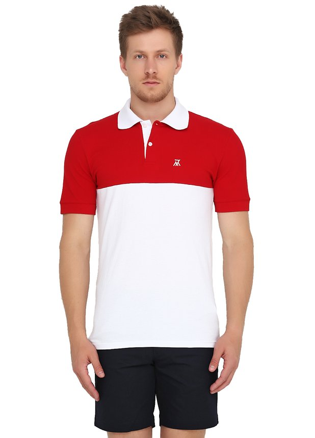 Polo 7M / White-Red