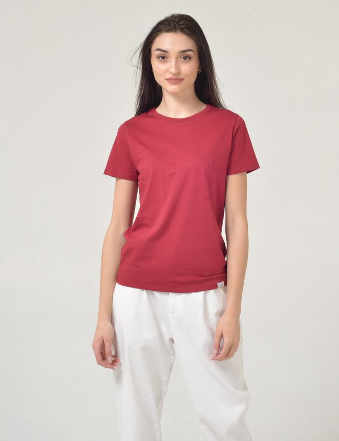 Basic Cotton, Бордовий, M