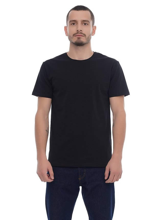 Basic T-Shirt EL, Черный, S