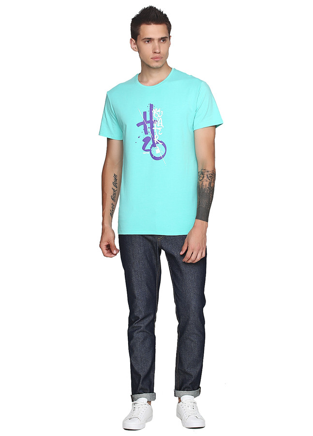 Be water Neon T-Shirt Mint