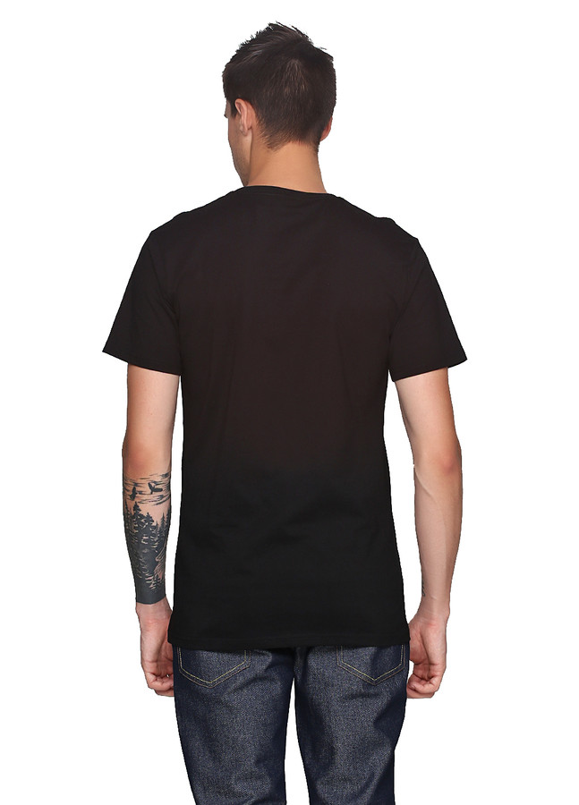 Halftoned Dote Neon T-Shirt Black