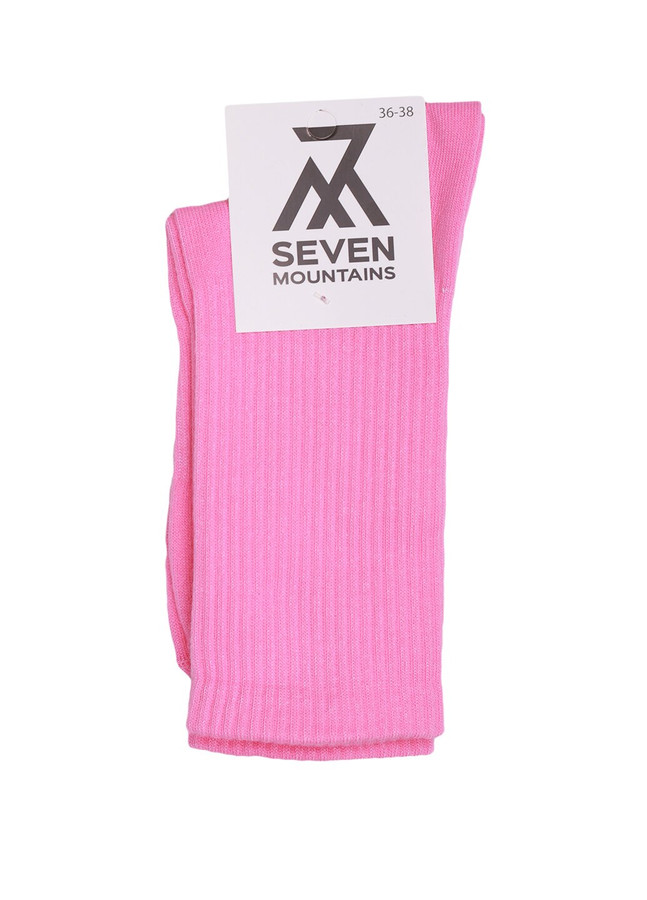 Ribbed socks, Pink, 36-38