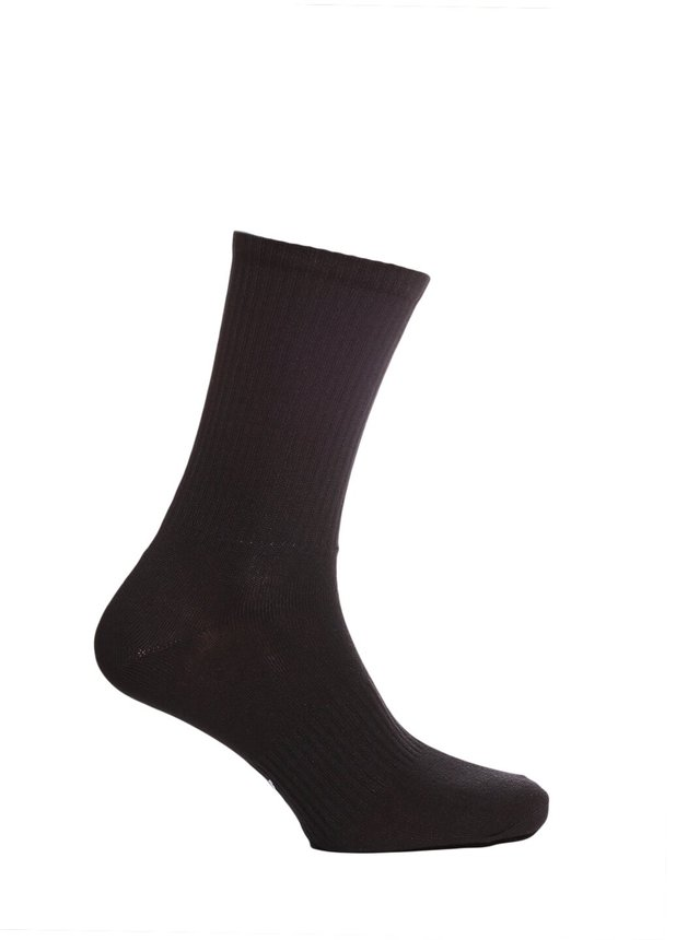 Ribbed socks, Black, 40-42