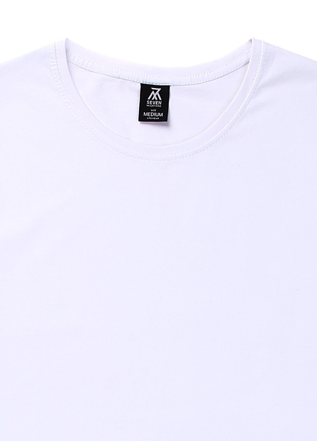 Basic T-Shirt , White, S