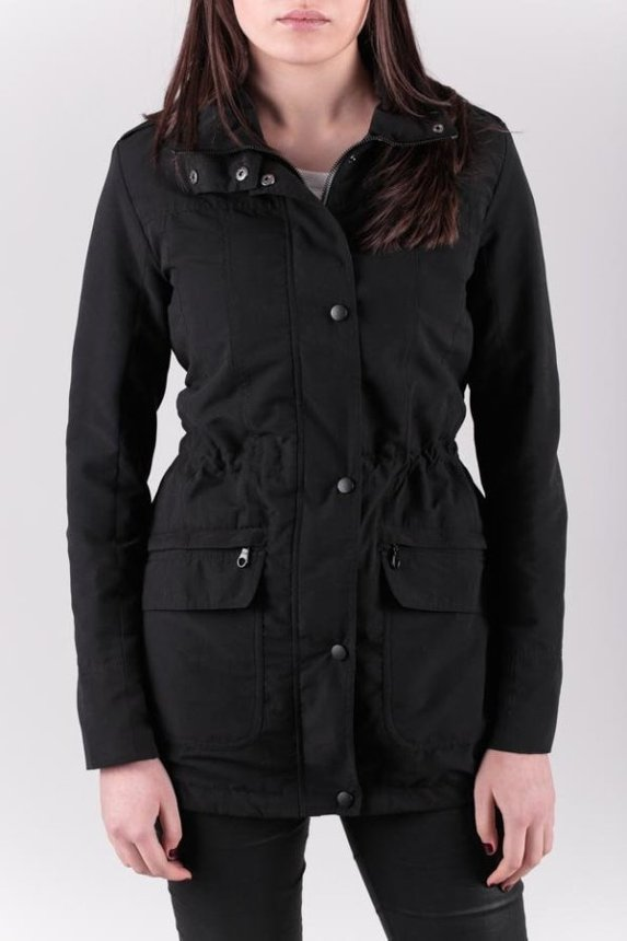 Slim Fit Parka Woman / Black